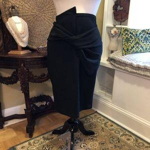Brookshields-NWT-1X - Black Knit Skirt
